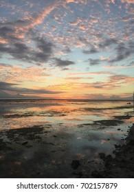 Sunset of island Gili Trawangan, bali, indonesia - Shutterstock ID 702157879