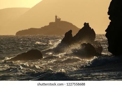 Sunset in Isola d'Elba Tuscany
