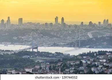 Sunset in Istanbul, Turkey