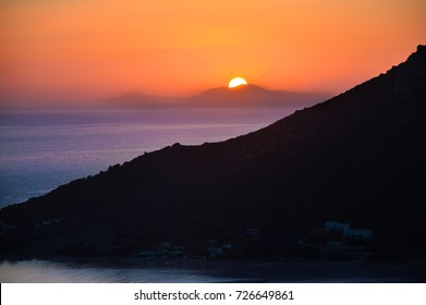 Sunset in Kalymnos Island,Greece