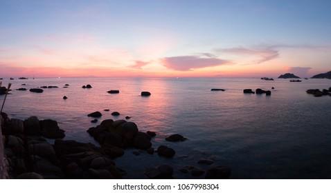 Sunset  Kao-Tao Thailand