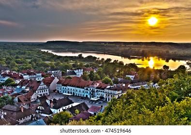 Sunset in Kazimierz Dolny, Poland - Shutterstock ID 474519646