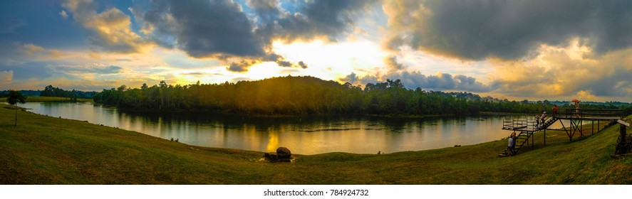 Sunset at Khao Yai National Park Nakhon Ratchasima, Thailand