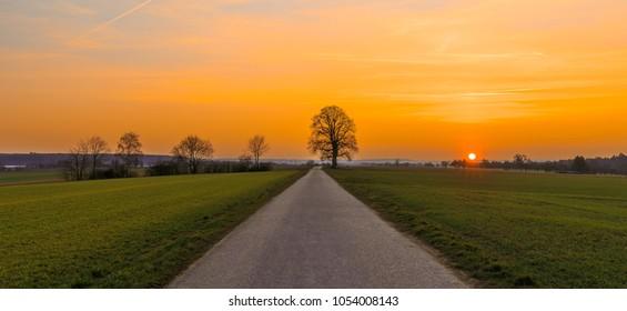 Sunset in Koengen