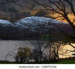 Sunset in the Lake District - Autumn in Cumbria