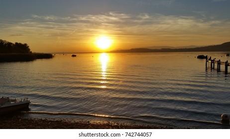 Sunset / Lake Murten