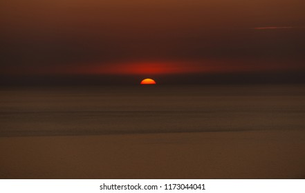 Sunset in Lampedusa Italy Vacation 2018 Holiday - Wallpapers Sea View