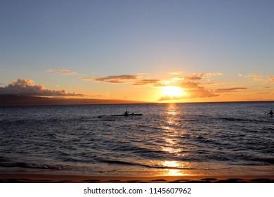 Sunset Lanai Hawaii