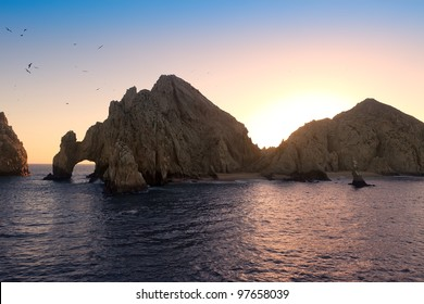 Sunset at Land's End, Cabo San Lucas, Mexico