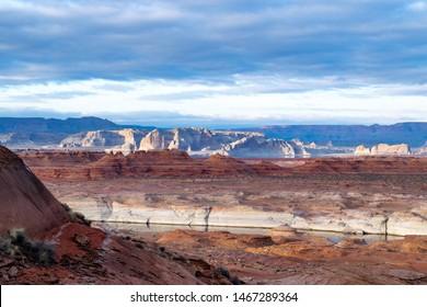 Sunset Landscape in Arizona Canyons