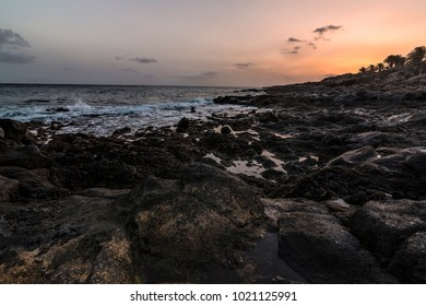 Sunset at Lanzarote, Canary Islands, Spain
