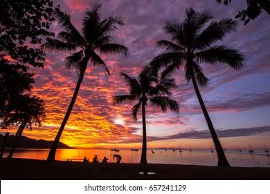 Sunset Magnetic island, Australia
