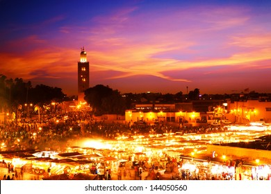 Sunset in Marrakesh