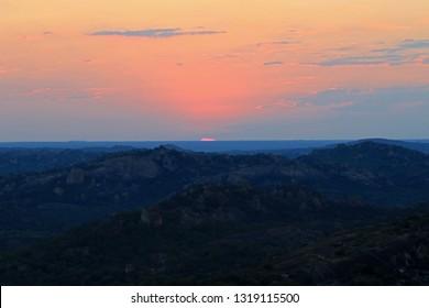 Sunset , Matobo National Park, Zimbabwe