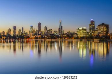 Sunset, Melbourne