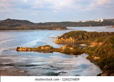Sunset in Menorca island