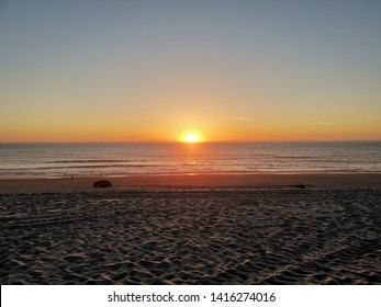 Sunset at Mira Beach (Praia de Mira) Portugal