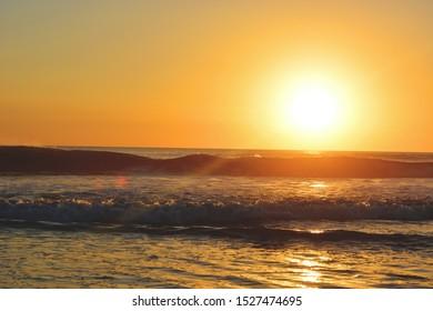 Sunset at Montezuma Beach, Costa Rica