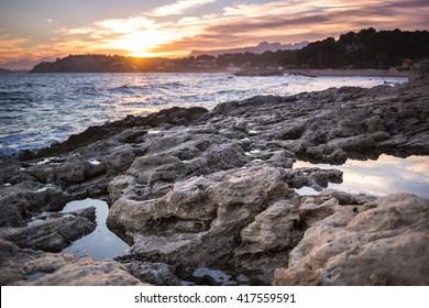 sunset in Moraira
