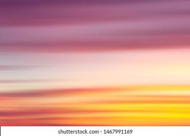 sunset motion summer nature background