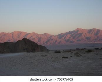 Sunset at Mt. Amir, Israel