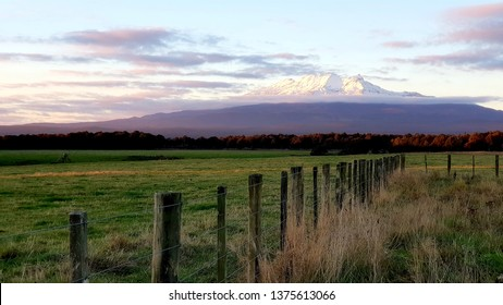 Sunset at Mt. Ruapehu