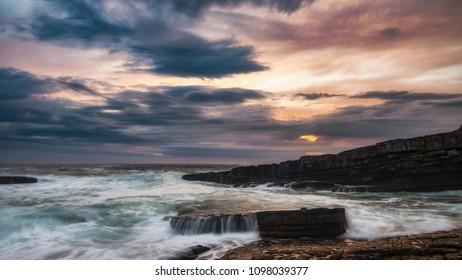 Sunset at Mullaghmore county Sligo