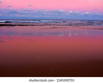 Sunset at Nambucca Heads in New South Wales Australia