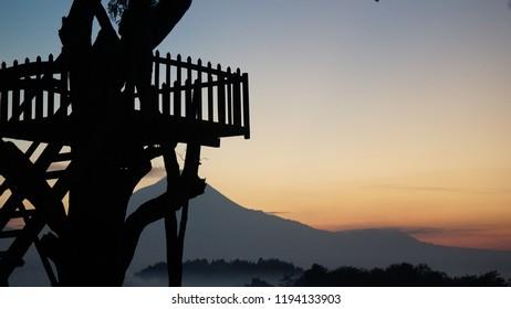Sunset, natual, background