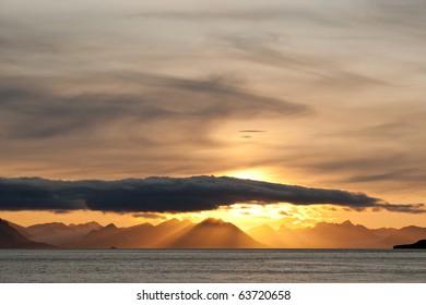 Sunset near Barencburg