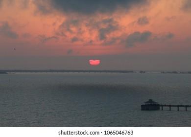 Sunset Near Fort Myers Beach