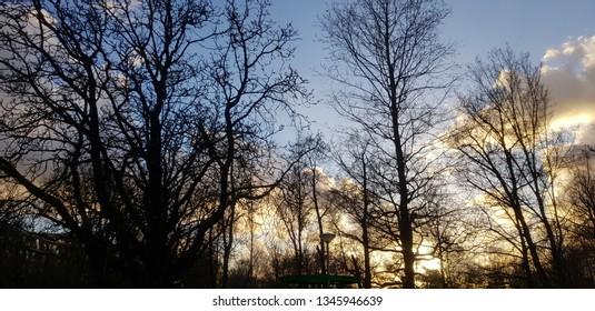sunset in the netherlands Dutch light