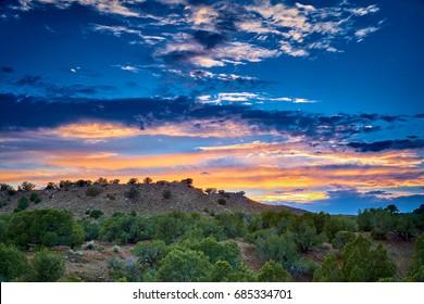 Sunset at North Fruita Desert