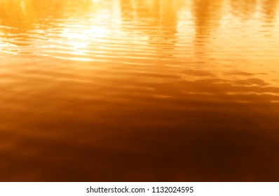 Sunset ocean surface background