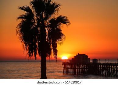 Sunset, Oceanside, CA