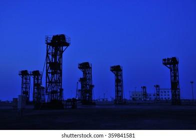 Sunset oil pump