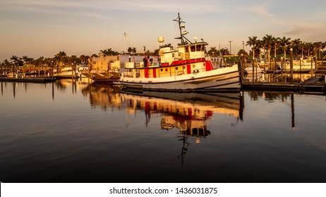 Sunset at Okeechobee Lake , Florida