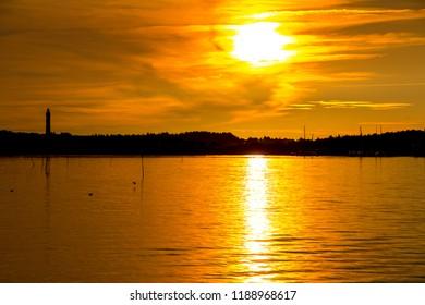 Sunset on Amrum