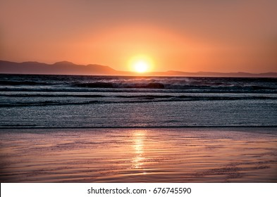 Sunset on the beach of False Bay in Capetown / CAPE OF DREAMS