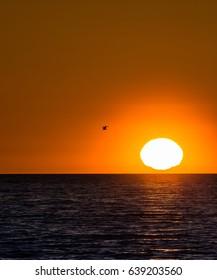 Sunset on the Black Sea, Sochi, Russia
