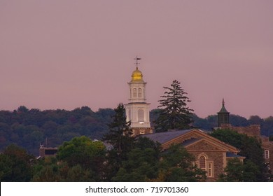 Sunset on Colgate University Chapel
