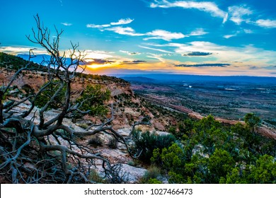 Sunset on Colorado National Monument