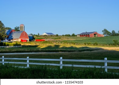 Sunset On The Farm Rural Ontario