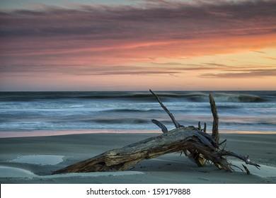 Sunset on Hilton Head Island, SC.
