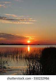 Sunset on the Ibera wetlands. Carlos Pelegrini, Argentina