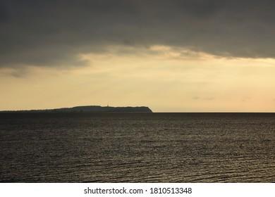 Sunset on the Island of Hiddensee
