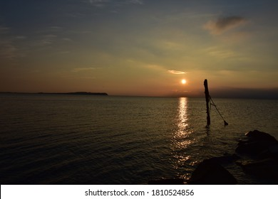 Sunset on the Island of Rugen