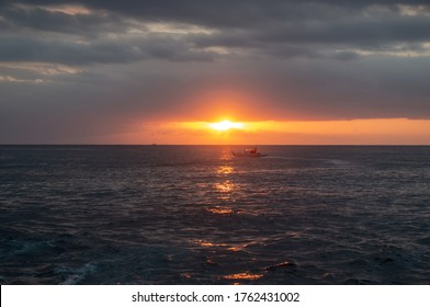 Sunset on the Kenting sea