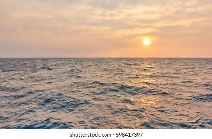 Sunset on koh Phi Phi Don, Koh Phi Phi Island thailand