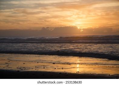 Sunset on Legzira beach